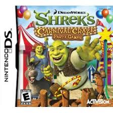 shrek carnival craze ds