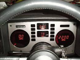 digital car dash