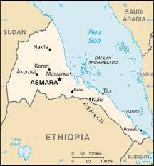 eritrean map