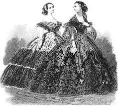 crinoline gowns
