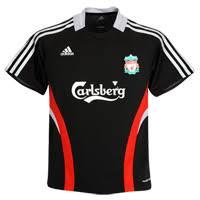 liverpool training jersey