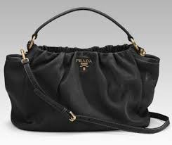 prada purse black