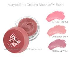 dream matte mousse blush