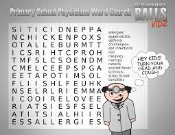 children word search