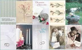 printable wedding card