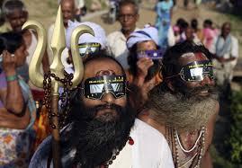Indiani davanti ad un'eclisse??? possibile?