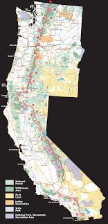 pct trail map