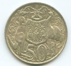 australian 50 cent pieces