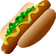 hot dogs clipart