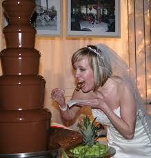 chocolate fountain photos