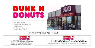 dunk n donuts
