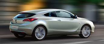 new opel astra coupe