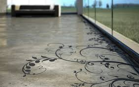 concrete floor design