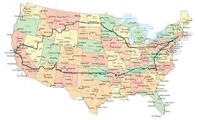 big map of usa