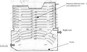 auditorium plans