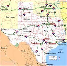 map of texas highways
