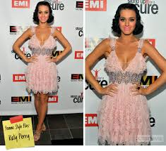 katy perry pink dress