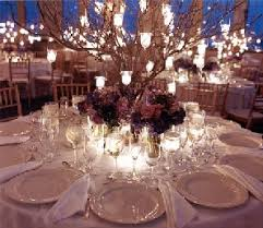 candle tree centerpieces