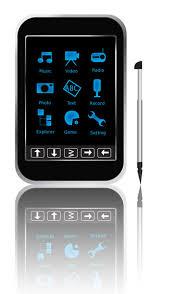 mp3 player touchscreen
