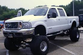jacked up ford f 250