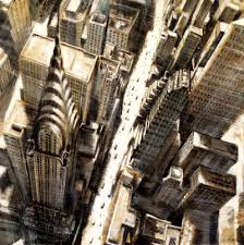 chrysler building art