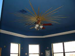 blue ceilings
