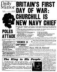 1939 newspapers