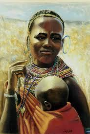 big african women