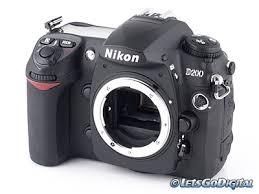 nikon d 200 digital camera