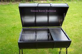 barrel barbecue grill