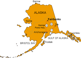 alaska state maps