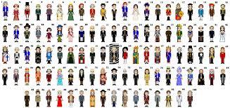 100 historical figures