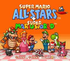 all stars mario