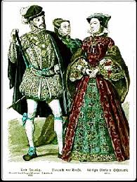 pictures of tudor clothes