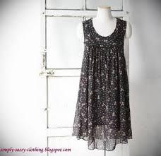 chiffon dress patterns