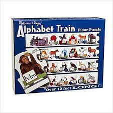 abc train puzzle