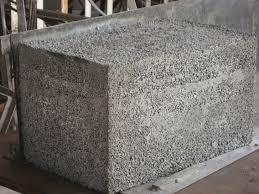 concrete styrofoam