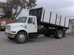 flat bed dump truck