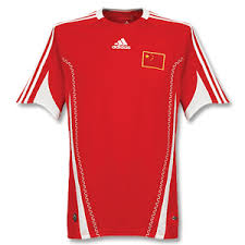 china football shirt