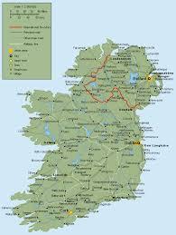 map of ireland cities