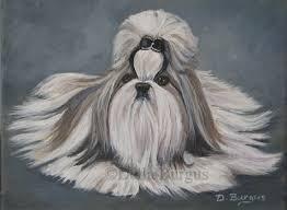 canine art