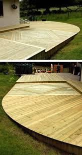 ground level deck photos