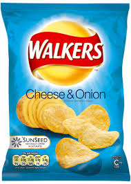 walkers crisps cheese and onion