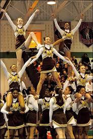 high school cheer stunts