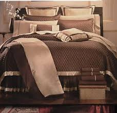 brown bed set