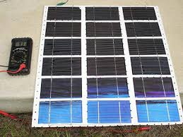 homemade solar cells