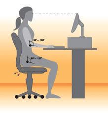 ergonomic seating computer