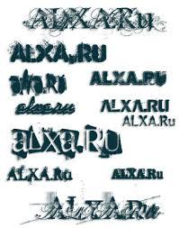 graphics fonts