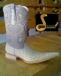 botas de avestruz