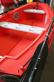plastic dinghy